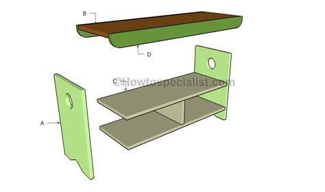 build a storage bench storage bench plans howtospecialist how to build step