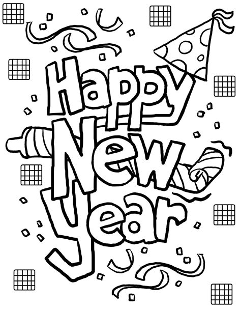 new year colouring pages preschool happy new year coloring pages jpg coloring holidays