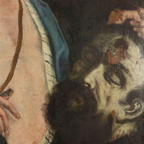 david con la testa di golia davide con la testa di golia pittura antica arte