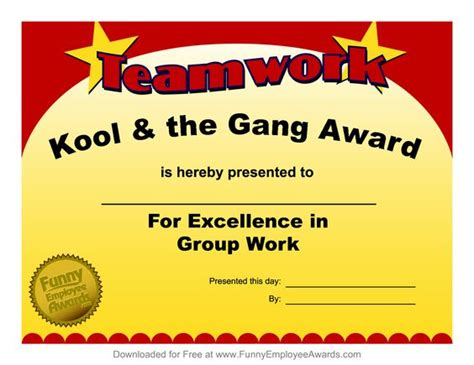 employee recognition awards templates award templatefree employee award certificate