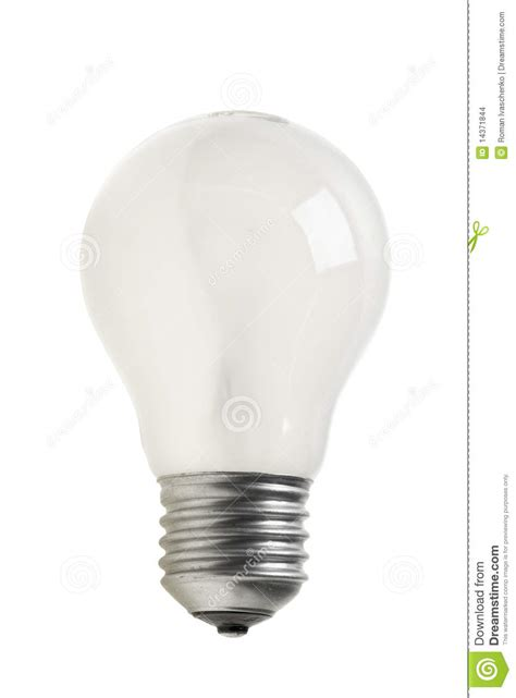 matted tungsten light bulb stock images image 14371844