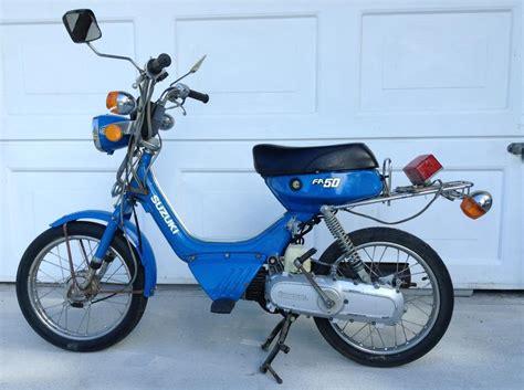 1983 Suzuki Fa50 Suzuki Fa50 1983 Sooke