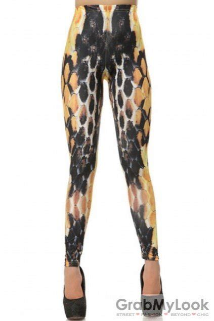 patterned thin tights accessories leggings honey comb bee pattern skinny