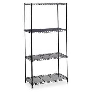 commercial wire shelving safco 5288bl safco industrial wire shelving saf5288bl