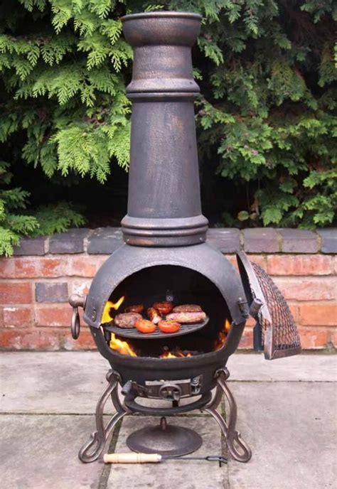 extra large toledo bronze cast iron chimenea fireplace