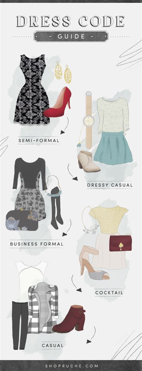 17 Best ideas about Dress Code Guide on Pinterest   Dress