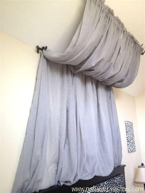 canopy curtain rod 25 best ideas about curtain rod canopy on pinterest