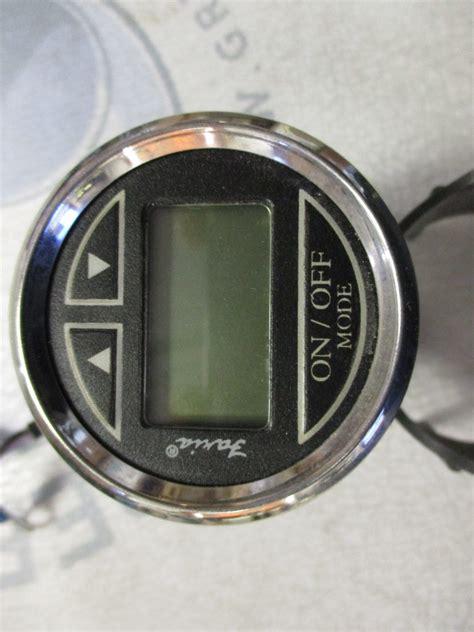digital depth gauge for boats ds0111a faria marine boat digital depth finder gauge 2