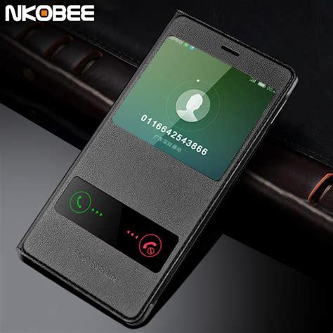 Huawei P8 Lite Window Leather Flip Cover Sarung Dompet Casing aliexpress buy huawei p8 lite 2017 leather flip
