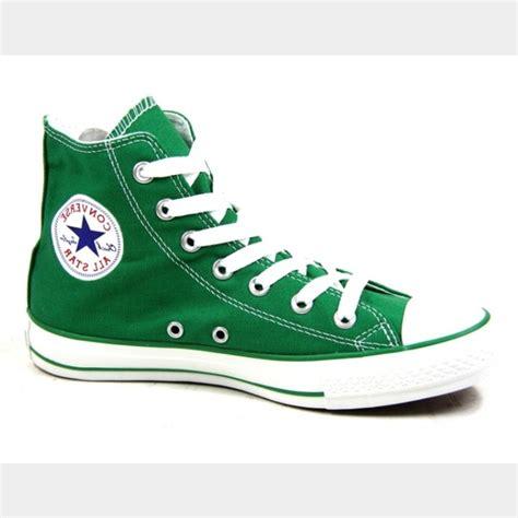 Converse All High Top Green Volt Murah converse shoes sale green high tops poshmark