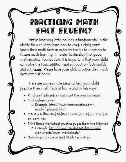 Parent Letter From Math teaching with terhune ready for parent conferences