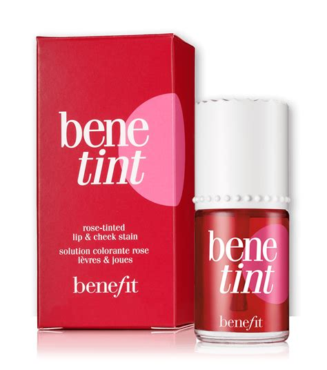 benetint tinted cheek lip stain benefit cosmetics