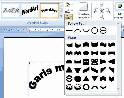 cara membuat tulisan klik disini twincliniccomputer cara membuat tulisan melengkung melingkar di word 2007