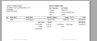 software pembuat faktur invoice pembelian invoice faktur beli program toko