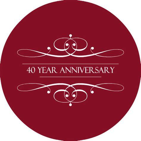 40th wedding anniversary invitations the ruby anniversary