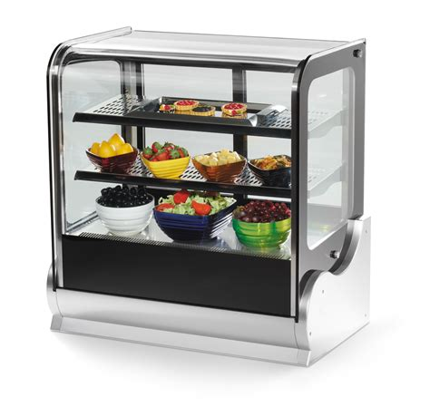 Glass Display Countertop by Vollrath 40863 48 Quot Refrigerated Countertop Cubed Glass