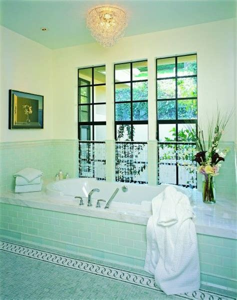 sea foam green bathroom sea glass green translucent glass tile is probably the