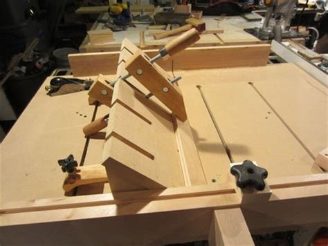 table saw bevel cut bevel guide for the super duper sled by lumberpunk