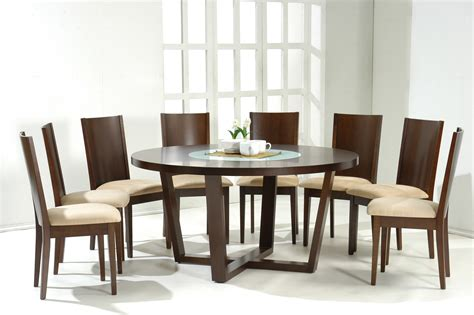 four chair dining table simple white round dining table 4 legs glass with leather