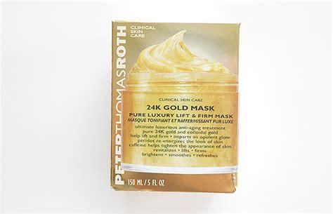 Mask Gold 24k 24 Masker roth 24k gold mask cynthia