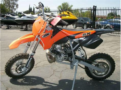 2002 Ktm 65 Sx Buy 2002 Ktm 50 Sx Pro Senior Lc Dirt Bike On 2040 Motos