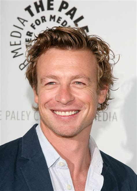 blond hair actor in the mentalist simon baker photos photos quot the mentalist quot at paleyfest09