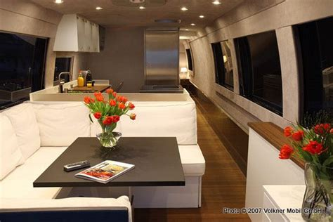 Rv With Modern Interior by Volkner Mobil Performance The World S Best Motorhome