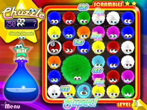 chuzzle deluxe for android chuzzle deluxe screenshots 1