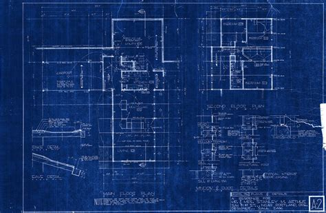 blue prints scraping the 80 s off a mid century saul zaik the original blueprints