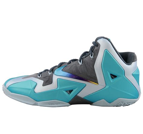 blue nike basketball shoes nike lebron xi gamma blue lbj11 basketball shoes nike
