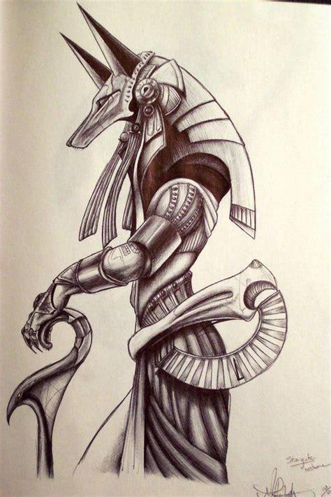tattoo sketch process 33 best anubis y otros dioses egipcios images on pinterest