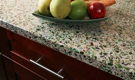 recycled kitchen countertops top kitchen countertop materials pros and cons