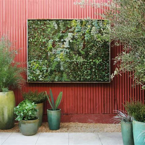 Garden Wall Hangings Think Green 20 Vertical Garden Ideas