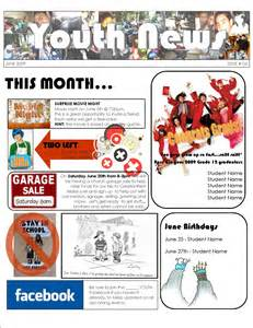 youth newsletter youth first aids