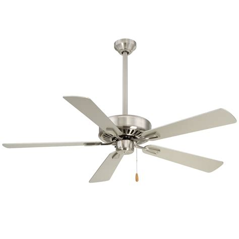 minka fans on sale minka aire contractor plus brushed nickel 52 inch ceiling