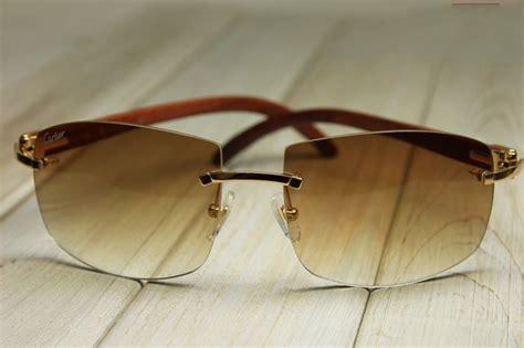 rimless sunglasses novo eyewear
