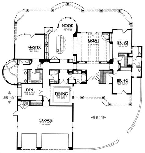 1250 Sq Ft House Plans 1250 6714 3 Bedrooms And 3 5 Baths The House Designers