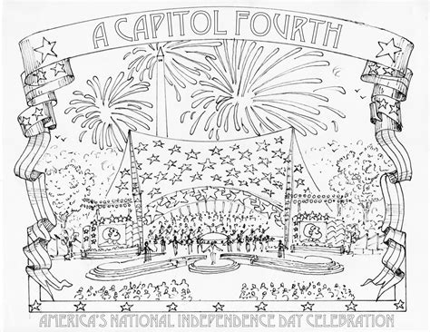 fourth of july coloring pages pdf fourth of july coloring pages a capitol fourth pbs