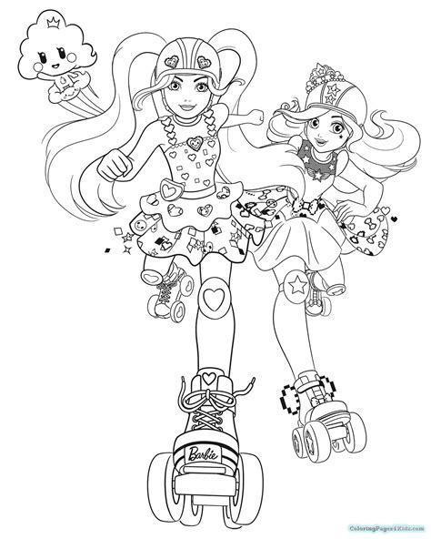 barbie video game hero coloring pages coloring pages for
