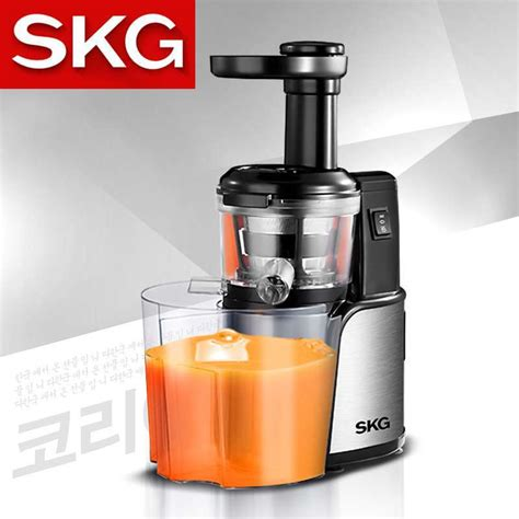 Juicer Homzace skg1337 stainless juicer home vegetable juicer extrusion machine baby food