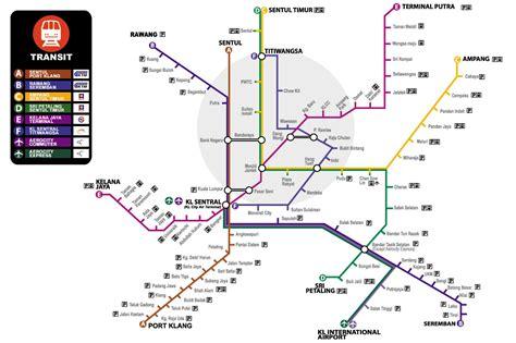 Ktm Malaysia Map Toa Map