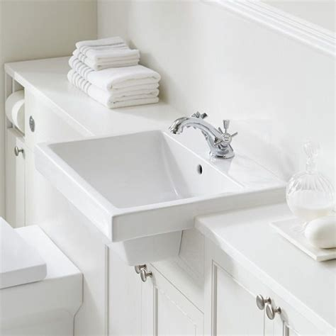 inset basins bathrooms 25 best ideas about semi recessed basin on pinterest