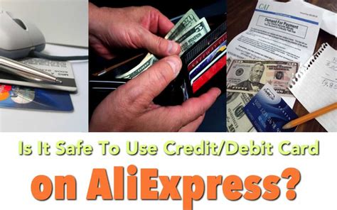 is it safe to use my credit card on aliexpress aliholic