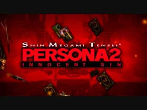 psp theme persona persona 2 innocent sin psp battle theme extended youtube