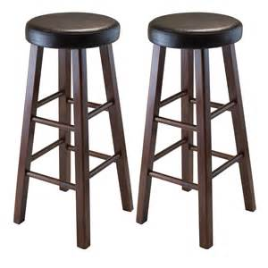 Bar Stools With Cushion Seat Winsome Wood Marta Assembled Bar Stool