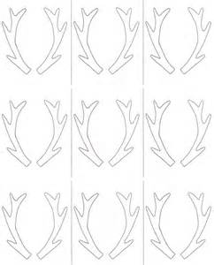 Antler Template by 1000 Images About Deer Stencils On Deer