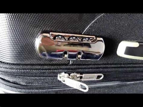 debloquer cadenas valise jump comment ouvrir une valise samsonite delsey ou gsell dont
