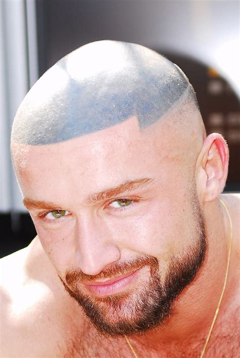 hair tattoo for bald men hair
