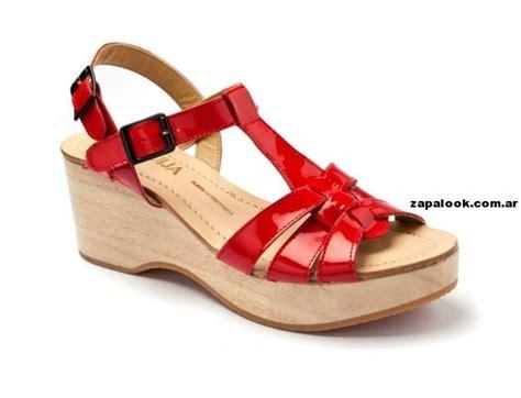 imagenes de sandalias rojas sandalias rojas huija primavera verano 2014 zapalook