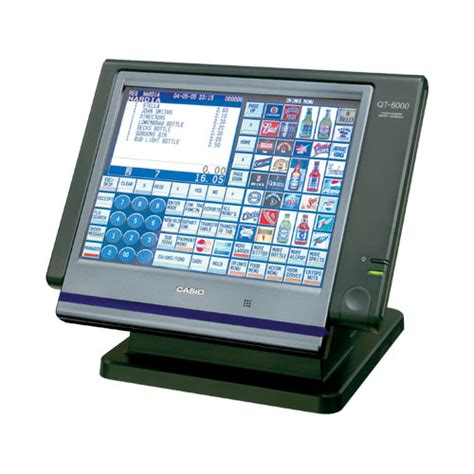 Customer Display Casio Qt 6060d casio qt 6000 touch screen epos terminal specifications